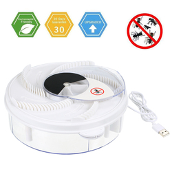 Electric Fly Trap Device with Trapping Food Pest Electric Fly Trap Pest Catcher Mosquito Killer Bug Insect Repellent For Home