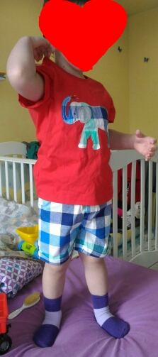Boy's Animal Embroidered Clothing Set photo review