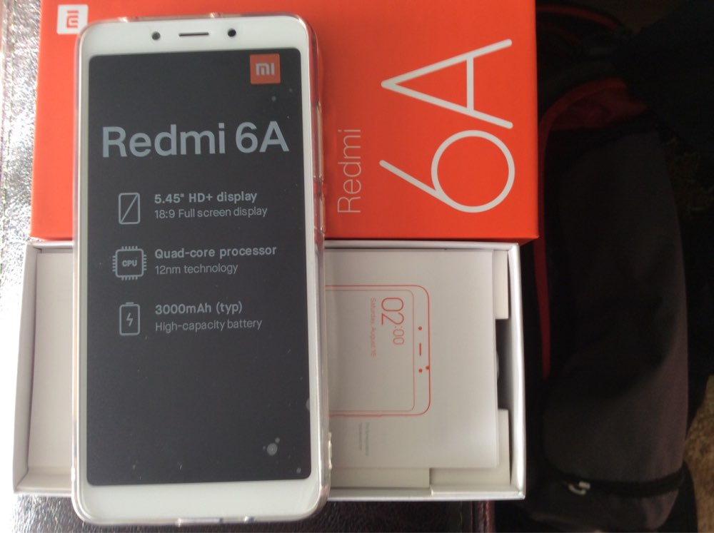 "For Xiaomi Redmi 6A Case 2GB+16GB 5.45"" Ultra Thin Transparent Clear Crystal Soft TPU Protective Case For Xiaomi Redmi 6A Cover"