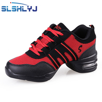 SLSHLYJ Sports Soft Outsole Breath Dance Shoes Sneakers For Woman Practice Shoes Modern Dance Jazz Shoes