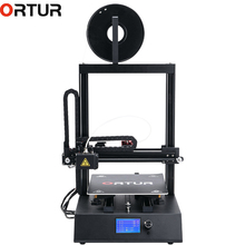 Ortur4 3d Printer Prusa i3 Large Plus Size Full Metal Frame LCD12864 Screen 3d Printer High Precision 3D Drucker Impresora Parts