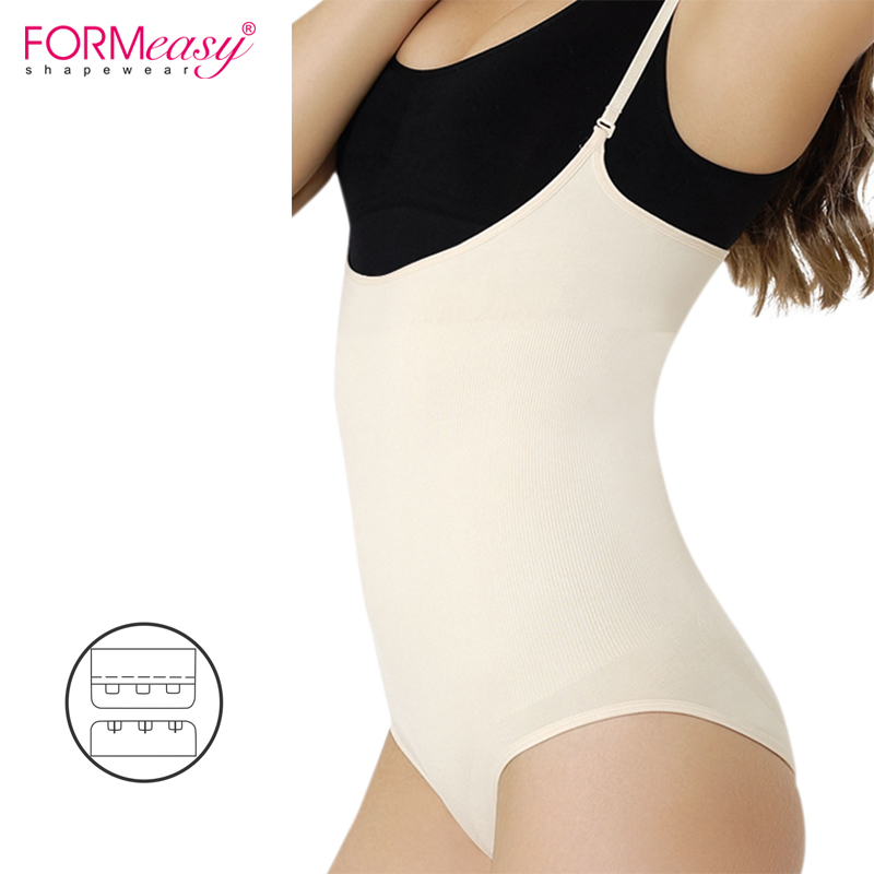 fe7e7181411d6 Women Sexy Siamese Corset Postpartum Thin Waist Slimming Bodysuit High  Elastic Shapewear Stretch Underwear Body Shapers Corsets-in Bodysuits from  Underwear ...