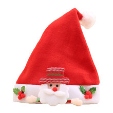 Snowman Bear Reindeer Santa Claus Xmas Hat Child Fancy Party Dress Christmas(China)