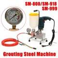 Epoxy injectie pomp Epoxy/polyurethaanschuim Grouting Machine STAAL SLANG beton reparatie crack Nieuwe Collectie