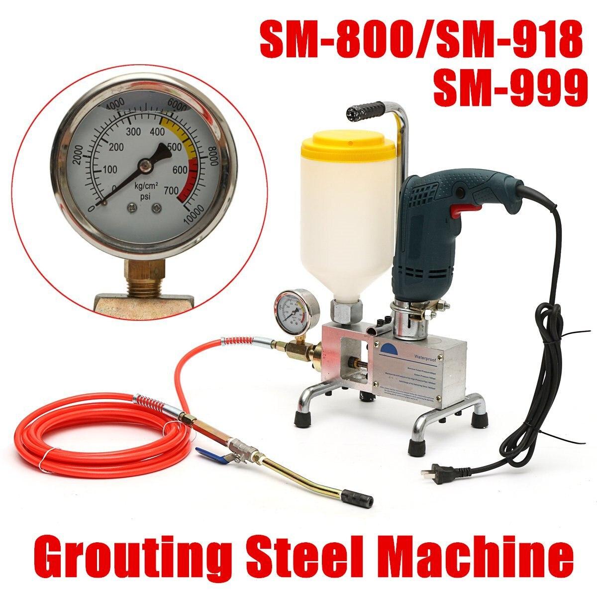 Pompe d'injection époxy époxy/polyuréthane mousse injection Machine tuyau en acier réparation de béton fissure nouveauté