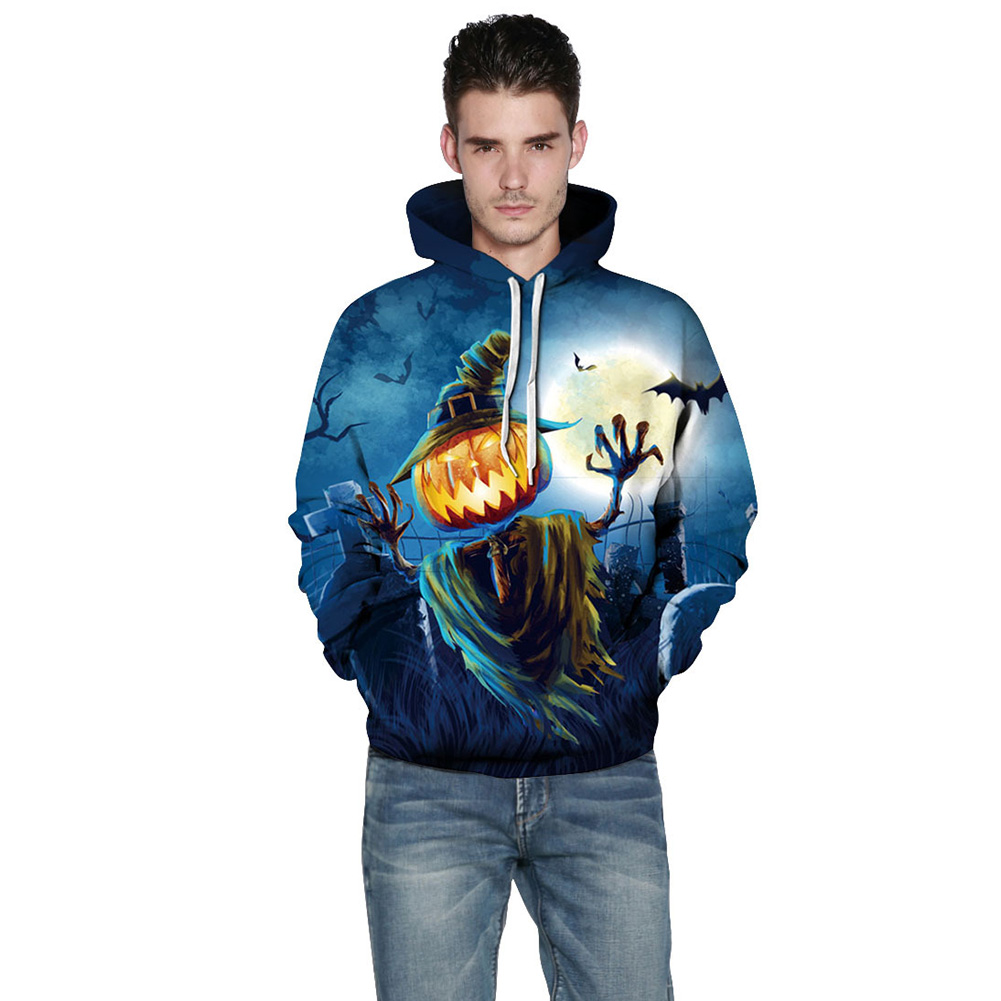 Funny Pumpkin 3d Hoodies Halloween harajuku style Women/Men Sweatshirt Hooded Print casual Pullovers