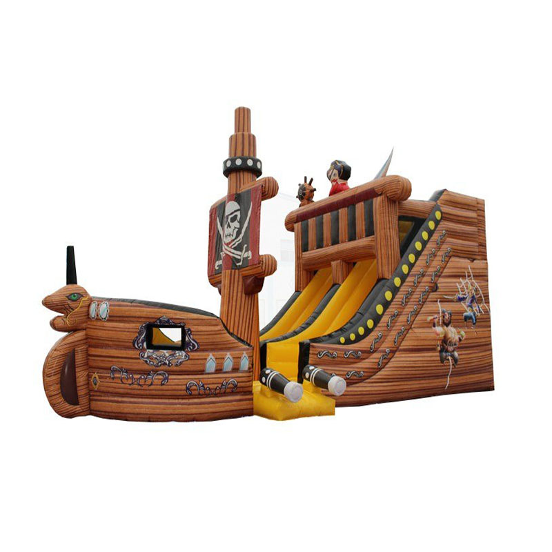 Factory direct sales Inflatable slides Inflatable fun city Inflatable pirate ship|Playground| |  - title=