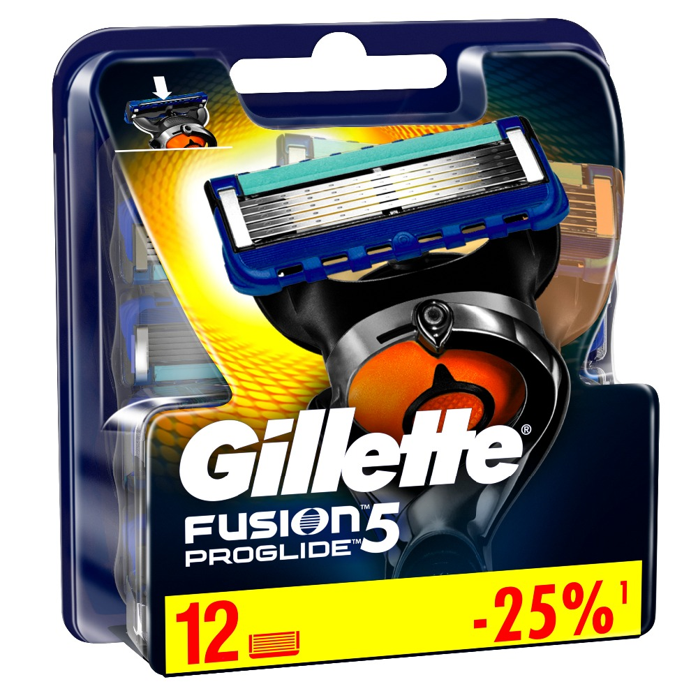 Removable Razor Blades for Men Gillette Fusion ProGlide Blade for Shaving 12 Replaceable Cassettes Shaving Fusion Cartridge removable razor blades for men gillette fusion 5 blade for shaving 6 replaceable cassettes shaving fusion cartridge