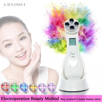 Portable beauty instruments Anti aging Tightening Skin Whitening Face Beauty Ultrasound Skin Care Body Massage Skin smoothing