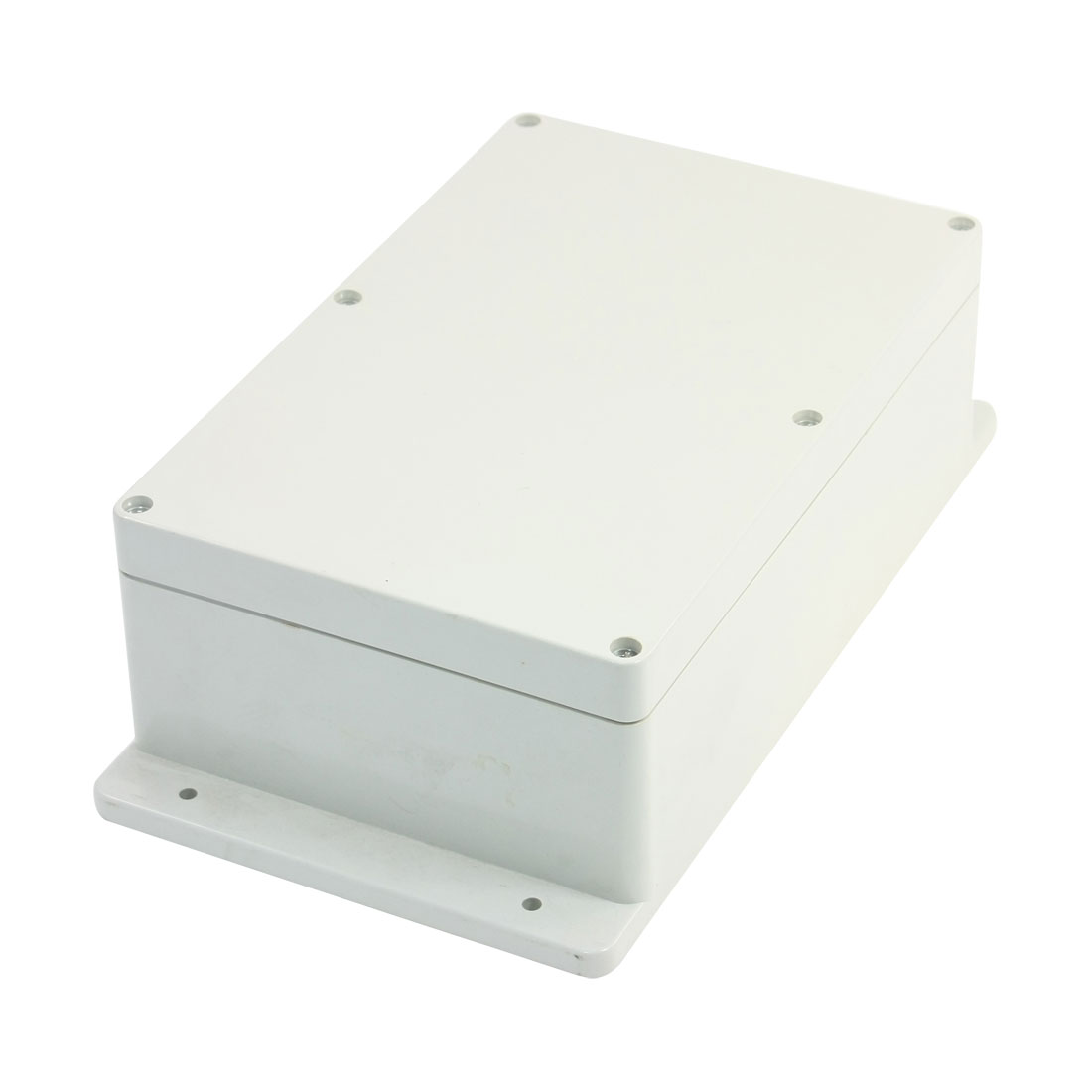 UXCELL 230Mmx150mmx85mm Junction Box Cable Connect Waterproof Plastic Case Enclosure Switching Power Supplies Tool Cable End Cap white waterproof plastic enclosure box electric power junction case 158mmx90mmx46mm with 6pcs screws