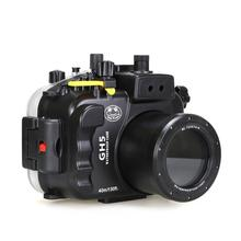 Seafrogs 40m 130ft Underwater Camera Housing Case for Panasonnic GH5