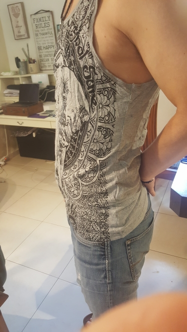 Grey Men Tank Top Casual Fitness Singlets Brand Mens Sleeveless Gasp Hip Hop Vest Elephant Print Cotton undershirt