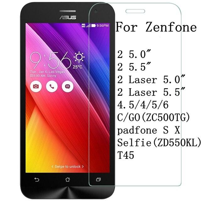 Vidrio templado para Asus Zenfone 2 Laser ZE500KL ZE550KL ZE500CL ZE550ML ir ZB500KL 3 Max ZC520TL ZB452KG ZE520KL 9 H película