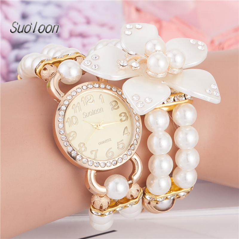 2018 Suoloon Dames Brithday Gift Horloges Mode Dames Studenten - Dameshorloges