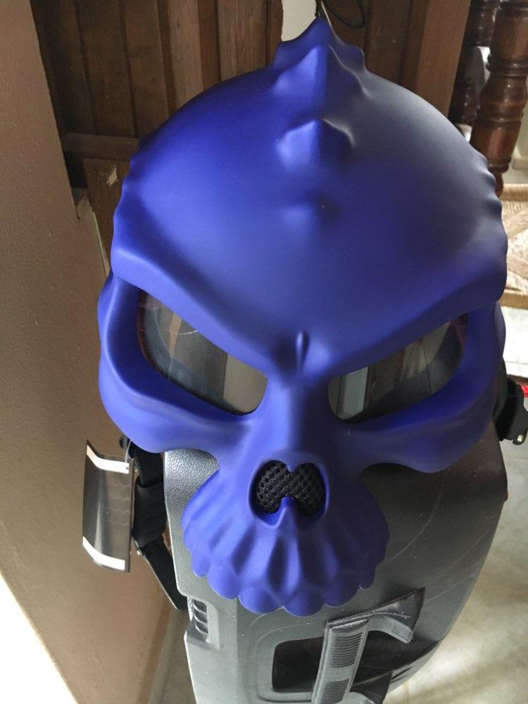 Masei 15 renk 489 çift kullanımlı kafatası motosiklet kask Capacete kasko yenilik Retro Casque motosiklet yarım yüz kask ücretsiz nakliye