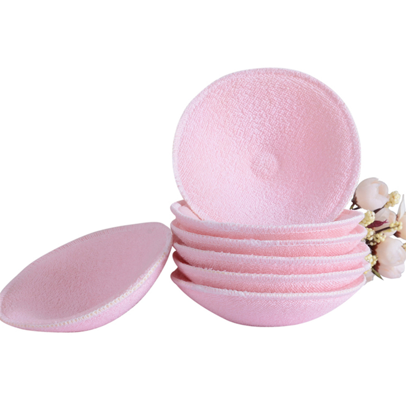 5 Pairs Nursing Pads Baby Feeding Breast Washable Cotton Soft Absorbent Reusable Maternity Nursing Pad