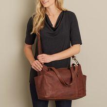 Высококачественная кожаная сумка