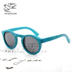 Image 1 - high quality Handmade Bamboo fashion sunglasses woman luxury Polarized UV400 sunglasse Bamboo Wood  Beach Sunglasses for man