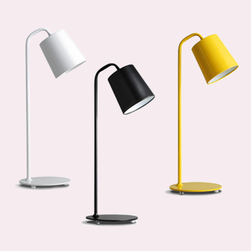 Modern Office Table Lamps LED Work Iron Desk Lamp Bedroom Study Reading Lights Foldable Table Lamp Lighting Fixtures