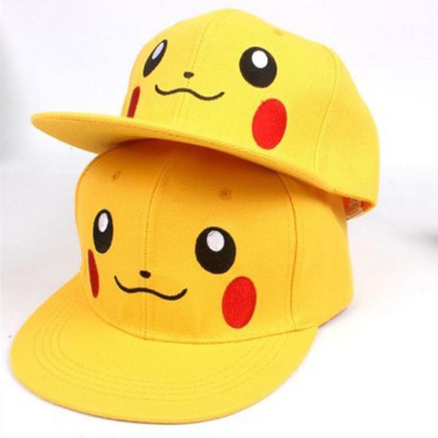 Pokemon Pikachu en forma de gorra de béisbol