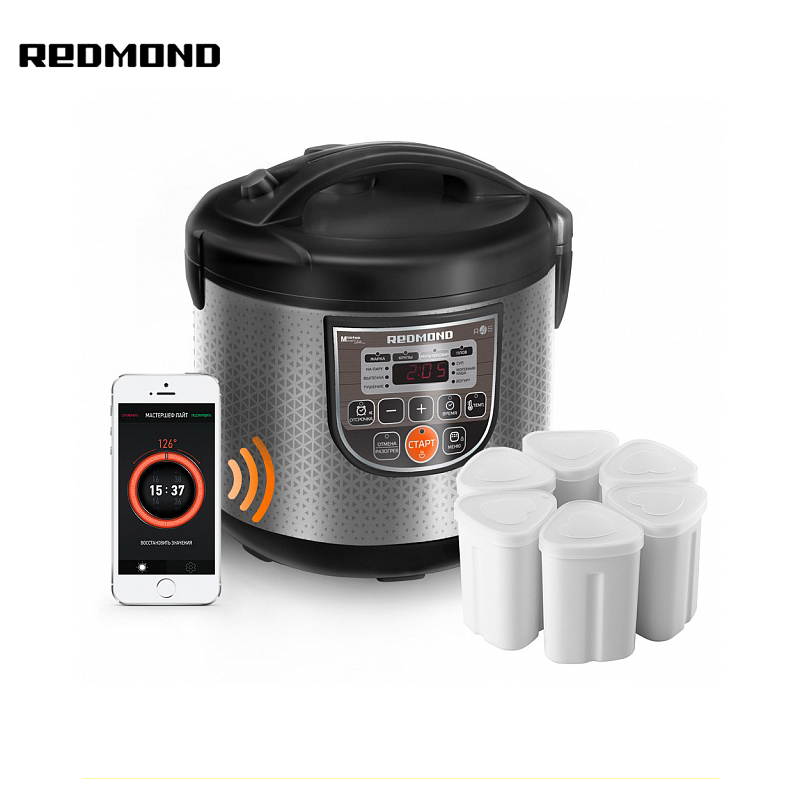 Multi Cooker Redmond RMC-M223S  multivarka multivarki cooker multicookings multicooker bread maker redmond rbm m1911 free shipping bakery machine full automatic multi function zipper