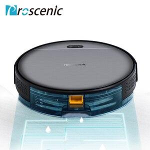 Image 2 - مكنسة كهربائية برسينك 800T روبوت صندوق غبار كبير خزان المياه التنظيف الرطب App التحكم في الشحن التلقائي 1800Pa شفط فراغ روبوتية