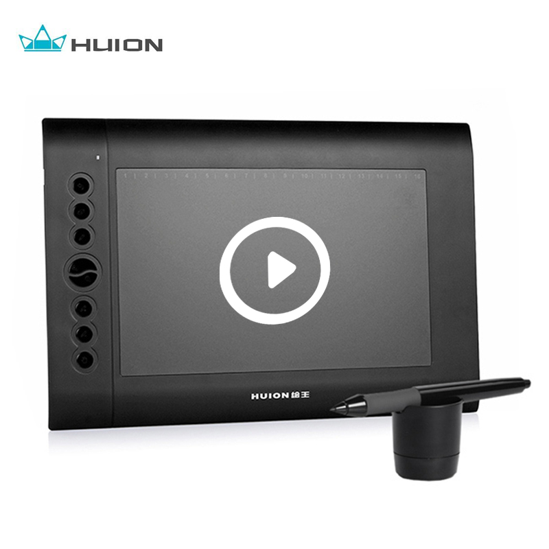 Huion H610N Art Graphics Drawing Tablet 10