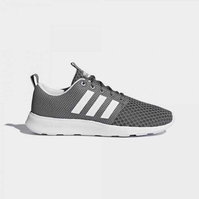 Racer Sneakers Shoes Man Db0676 Adidas Cloudfoam Grey In Swift wvrXvqR