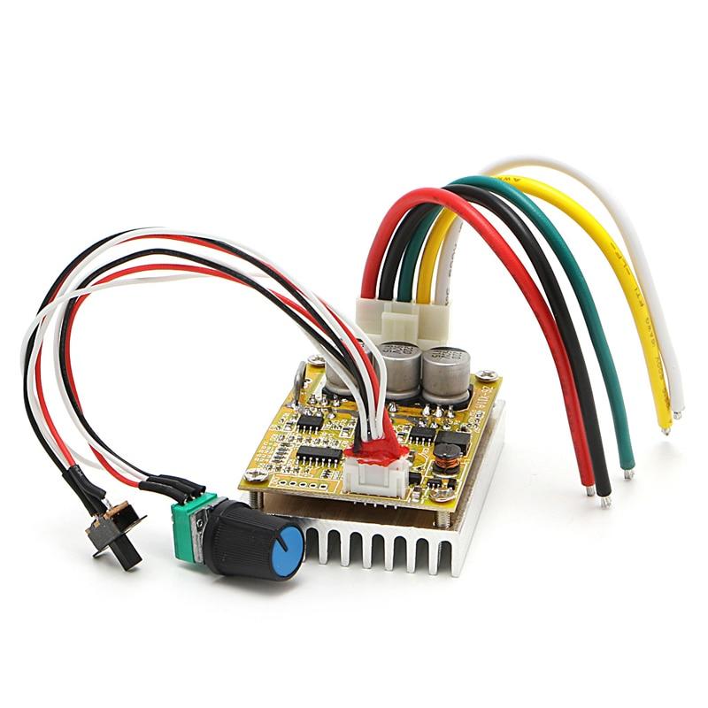 350w 5 36v brushless controller bldc motor driver wide for High power brushless dc motor