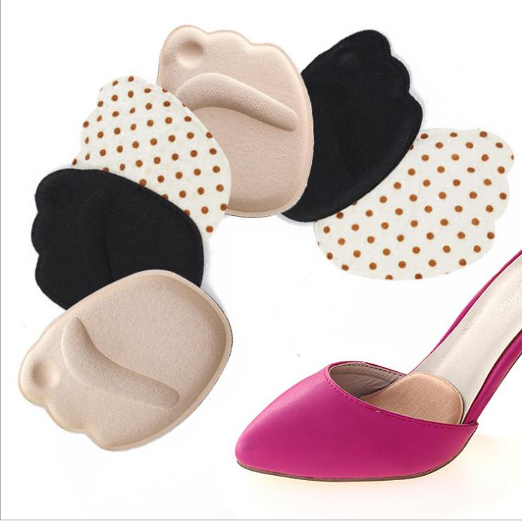 Womens high heels half size insole silicone massage anti - skid front pad ne