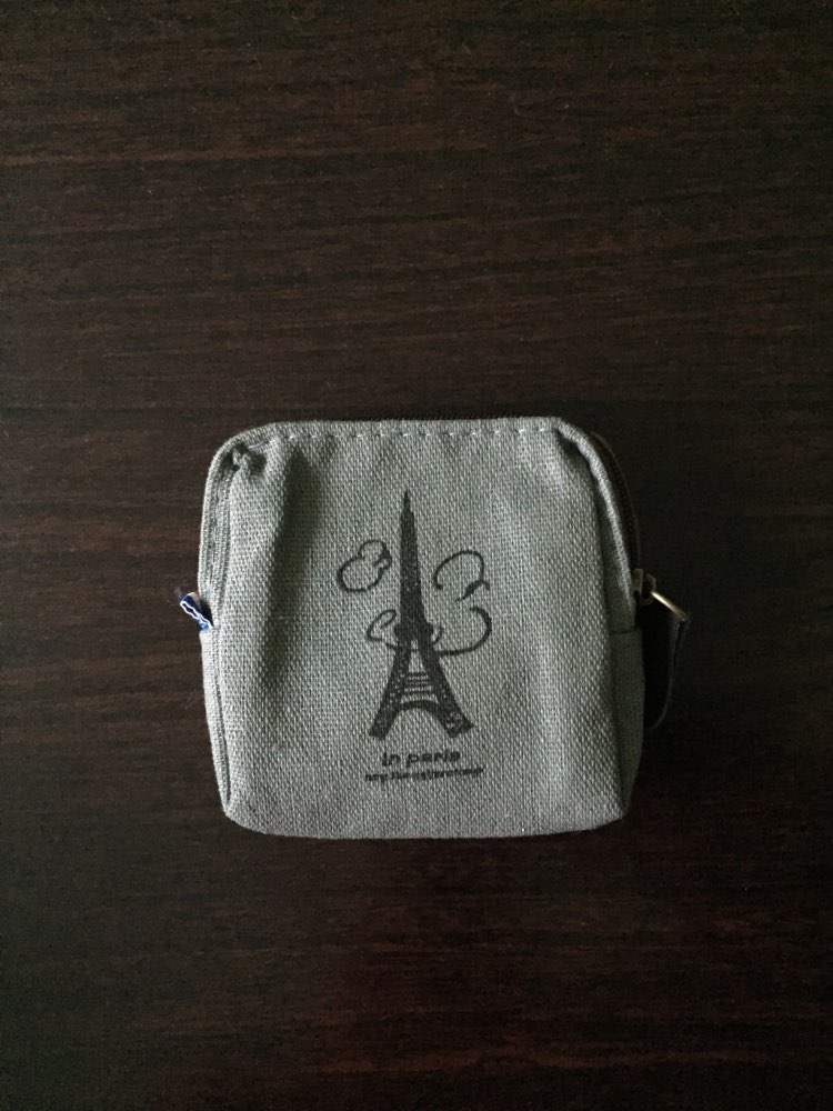 eTya Coin Purses New Style Canvas Coin Wallet High Quality Child Women Change Purse Lady Portable Small Zipper Key Pouch Gift photo review