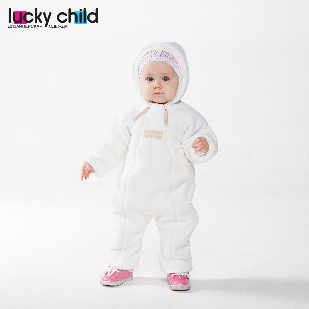 Jumpsuit Lucky Child for girls and boys 24-71 (0M-12M) Inspiration Children's clothes kids Rompers for baby 50cm reborn dolls boys silicone reborn baby dolls toys for girls gift novelty lifelike baby newborn doll include clothes and hat