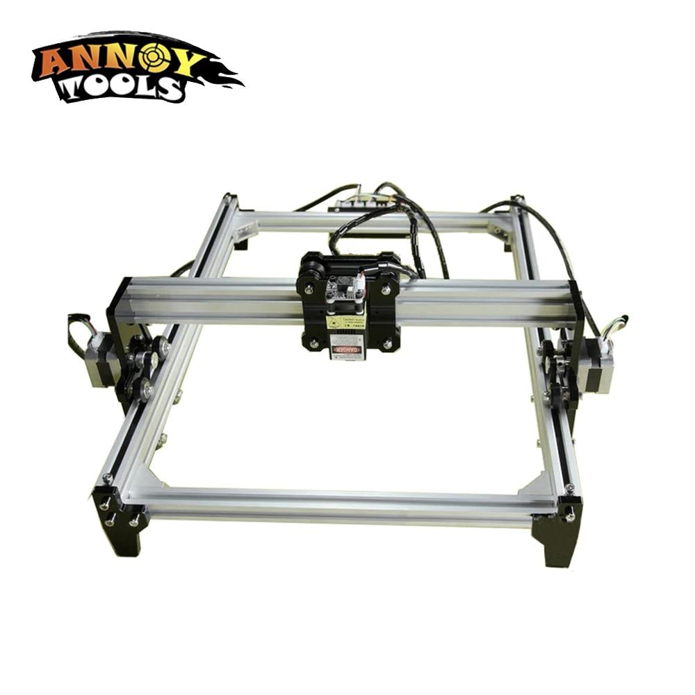 500 mw 2500 mw 5500 mw 15 w DIY laser graveur machine CNC machine de gravure, 15000 mw 5.5 w avec TTL/PWM bois routeur laser cutter