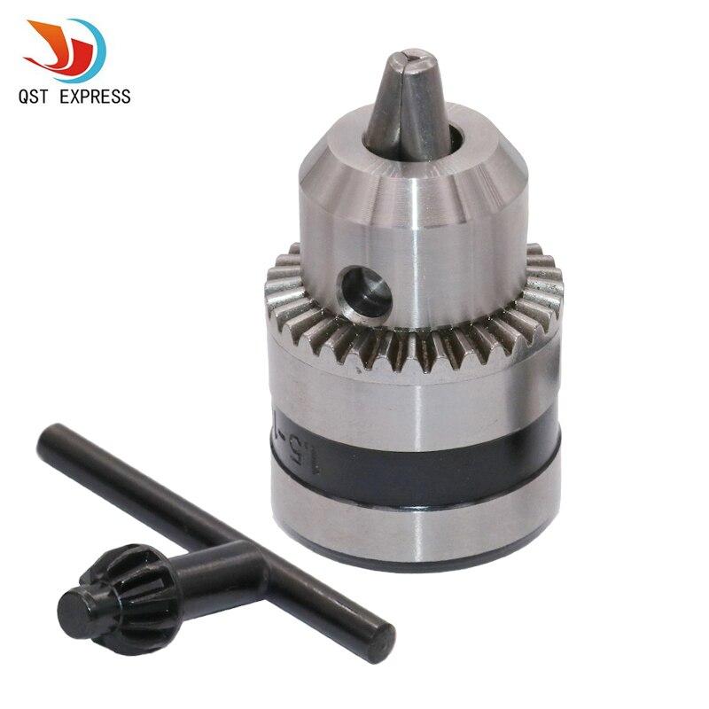 QST EXPRESS, угловой шлифовальный станок из сплава, мини-патрон без ключа, адаптер 1,5-10 мм для электроинструмента