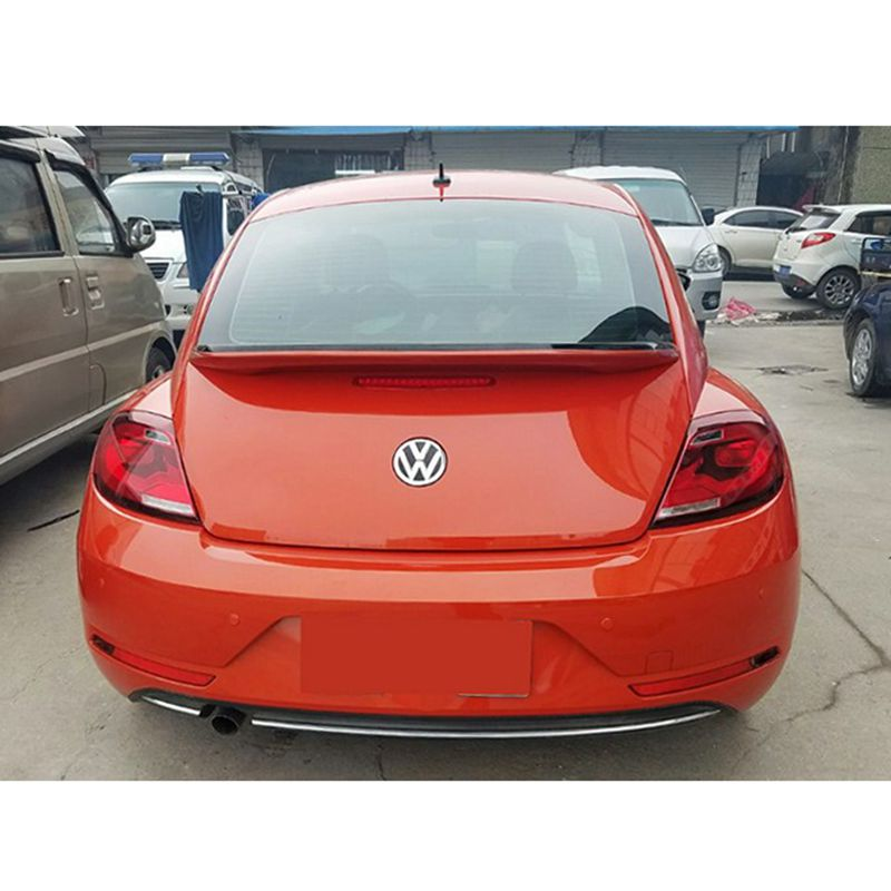 For VW Beetle Spoiler High Quality ABS Material Car Rear Wing Primer Color Rear Spoiler For Volkswagen Beetle Spoiler 2013-2016 for mazda cx 5 spoiler high quality abs material car rear wing primer color rear spoiler for mazda cx 5 spoiler 2013 2017