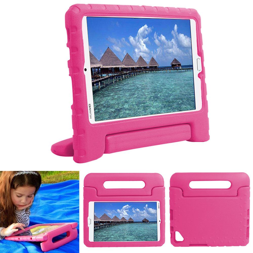Children Safe Rugged Proof Thick EVA Foam Kids Case Handle Stand For Huawei Mediapad M3/M5/T3 Kids Shockproof Case