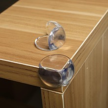 2pcs Baby safety protection sleeve angle transparent anti collision pool Home Kitchen dining room tables and chairs to protect