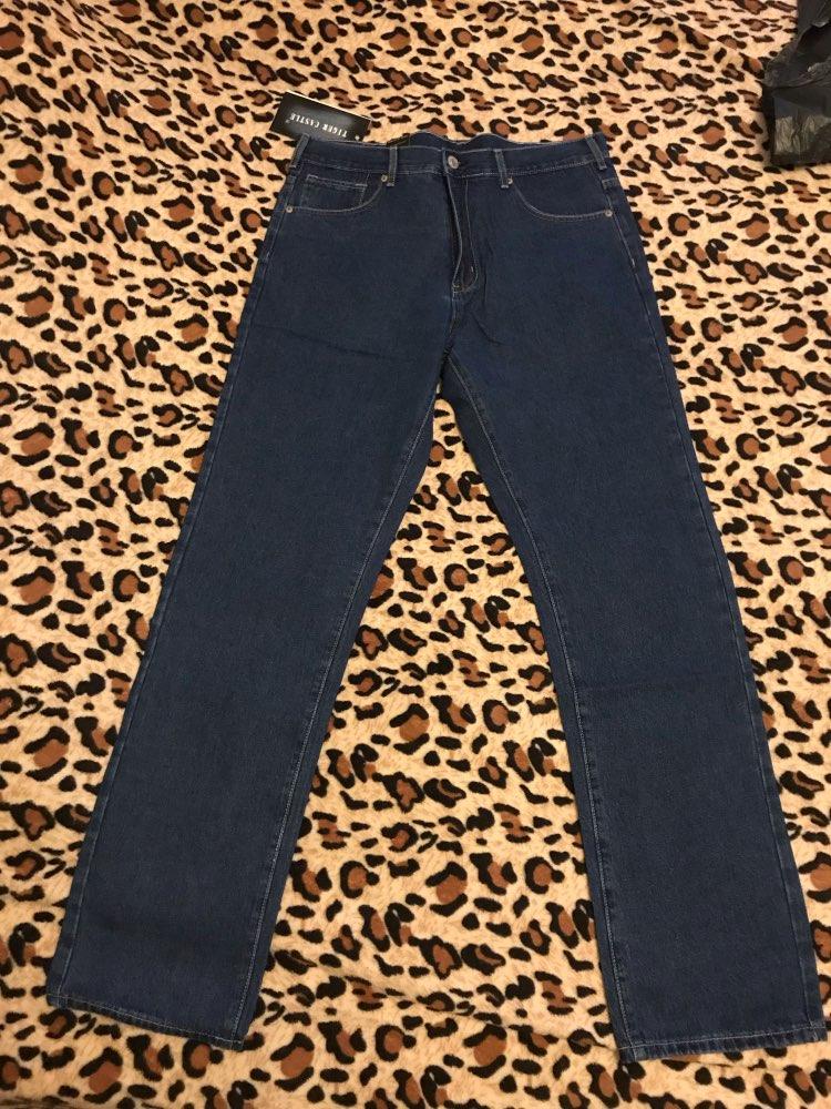мужчины для брюк; 10-дюймовый Реми волос; Жан пант; Жан пант;