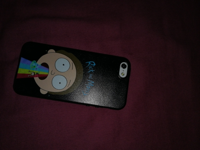 Rick and Morthy iPhone Case photo review