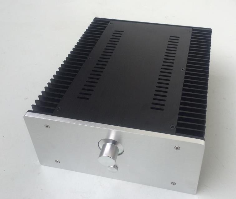 BZ2612A All Aluminum Class A Amp Chassis Power Amplifier Enclosure DIY Box Audio Amp Case 260*120*311mm d 073 queenway 2612 blank cnc full aluminum small class a amplifier audio box amp case 260mm 120mm 311mm 260 120 311mm