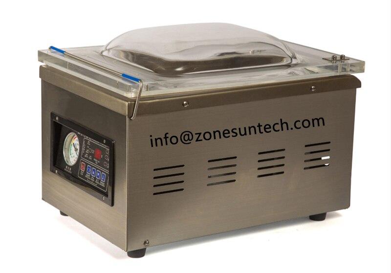 ZONESUN DZ-260 Table-style emballage Sous Vide machine, corps en acier inoxydable scellant vide d'étanchéité machine
