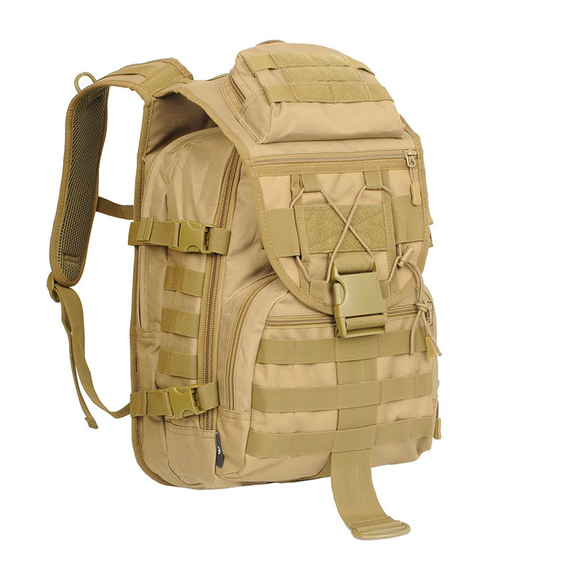 40L Tactical Molle Large Capacity Military Bag For Hunting Camping Backpack Durable 600D Nylon Waterproof Adjustable Strap Bags