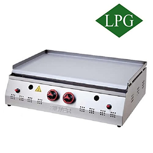 28 ''(70 Cm) PROPANE GAS LPG Professional Commercial Countertop Table Top Restaurant / Home Flat Grill Hot Plate Cooktop Griddle