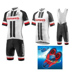 men cycling clothing 2018 team Sunweb cycling jersey set bike short road  RACE Team 23d43c010