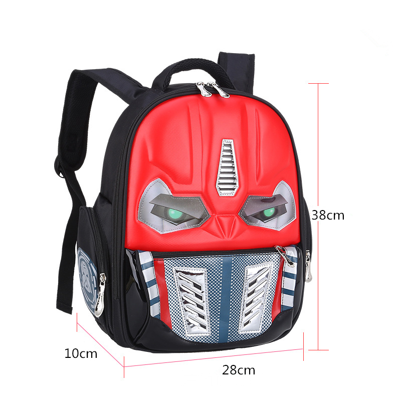 Image 3 - CHUNLONG 3D Cartoon School Bags For Boys and grils Children Backpacks Kids Child School Bag personality Backpack mochila escolar-in School Bags from Luggage & Bags on AliExpress