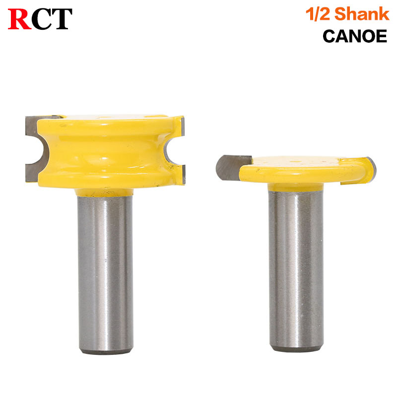 2 pc 1/2 SH 1/4 Dia. Canoe Flute and Bead Router Bit wood cutter woodworking cutter woodworking bits wood milling cutter 2 pc 1 2 sh 1 2 3 8 rabbeting