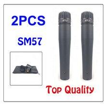 Melhor qualidade!!! 57 SM 57LC SM57 SM57LC Instrumento de Som Claro Com Fio Microfone profissional