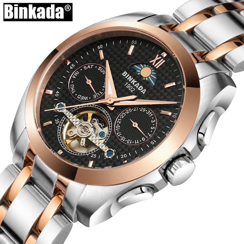 Mens Mechanical Watch Military Army Watches Steel Big Size Automatic Watch Skeleton Tourbillon Waterproof Male Relogio Masculino ik colouring automatic mechanical mens watch skeleton black military stainless steel waterproof wristwatch relogio masculino
