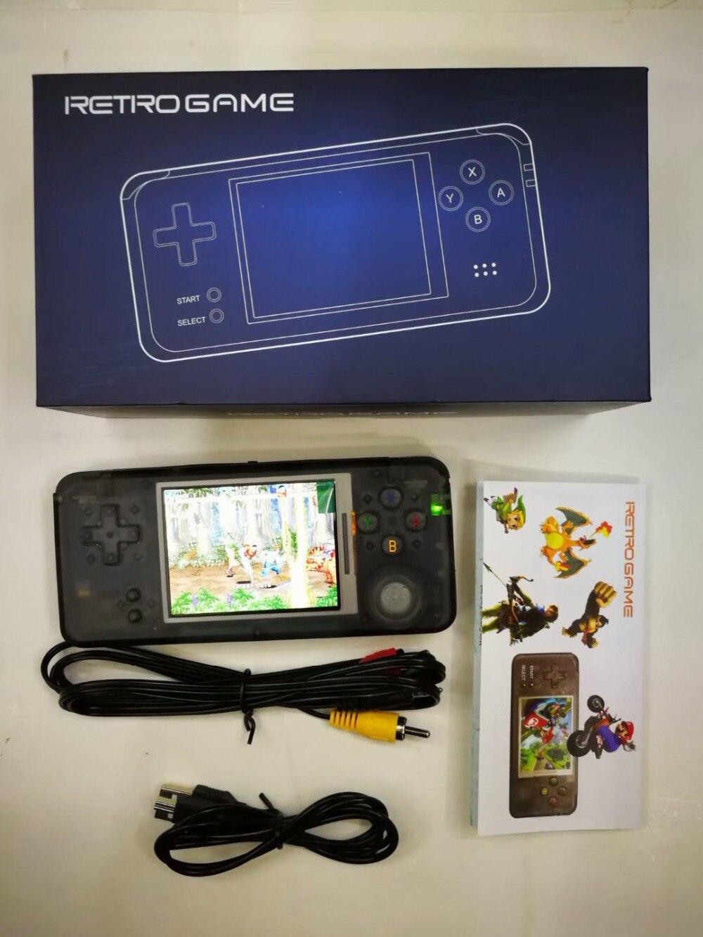 Fettiges Essen Zu Verdauen Videospiele Vornehm Rs-97 Retro Handheld-konsole Tragbare Mini Video Gaming Spieler Mp4 Mp5 Wiedergabe Eingebaute 1151 Kindheit Spiele Geschenke Um Zu Helfen