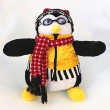 "Serious Friends Joeys Friend HUGSY Plush PENGUIN Rachel Stuffed Doll for birthday gift 18""40cm"